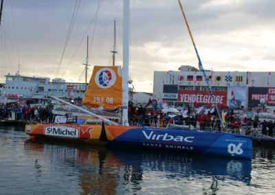 Jean-Pierre Dick Virbac Saint Michel Vendée Globe 2016 2017